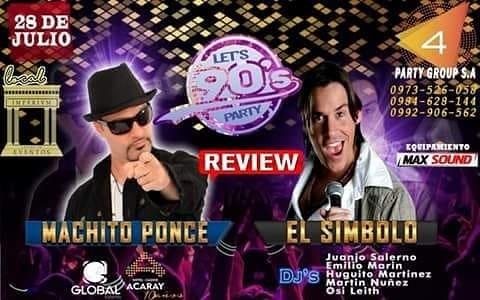 RETRO PARTY 80 - 90 Y 2000 DÍA DEL AMIGO -OLAVARRIA- BUENOS AIRES- 21/07/2018