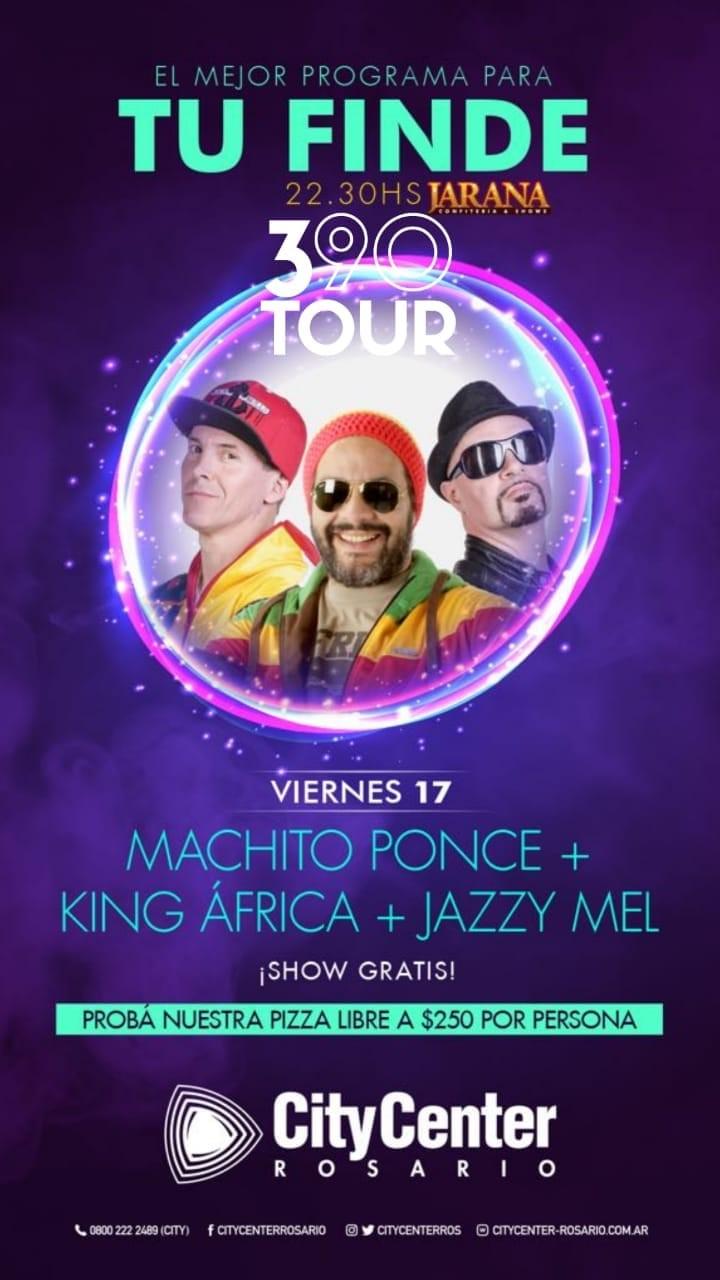 390 TOUR - VIERNES 17 DE AGOSTO 2018 -EN CITYCENTER ROSARIO - ARGENTINA
